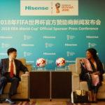 Hisense devient sponsor officiel de la Coupe du Monde de la FIFA, Russie 2018(TM)